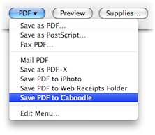 Caboodle, Productivity Software, Notes Software Screenshot