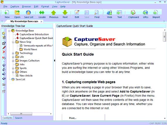 CaptureSaver Screenshot