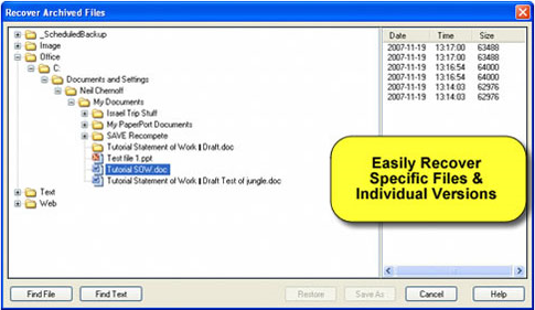 CascadePoint, Security Software Screenshot
