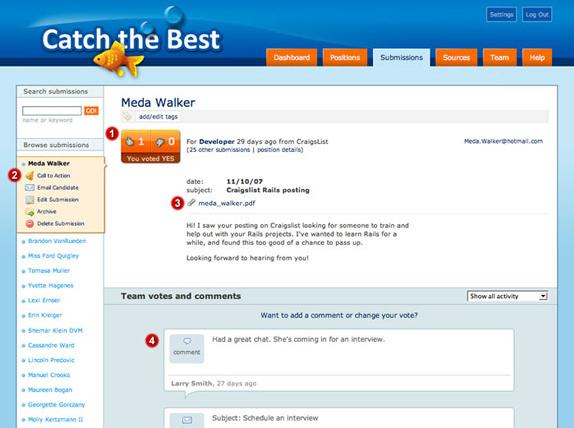 Catch the Best, Business & Finance Software Screenshot