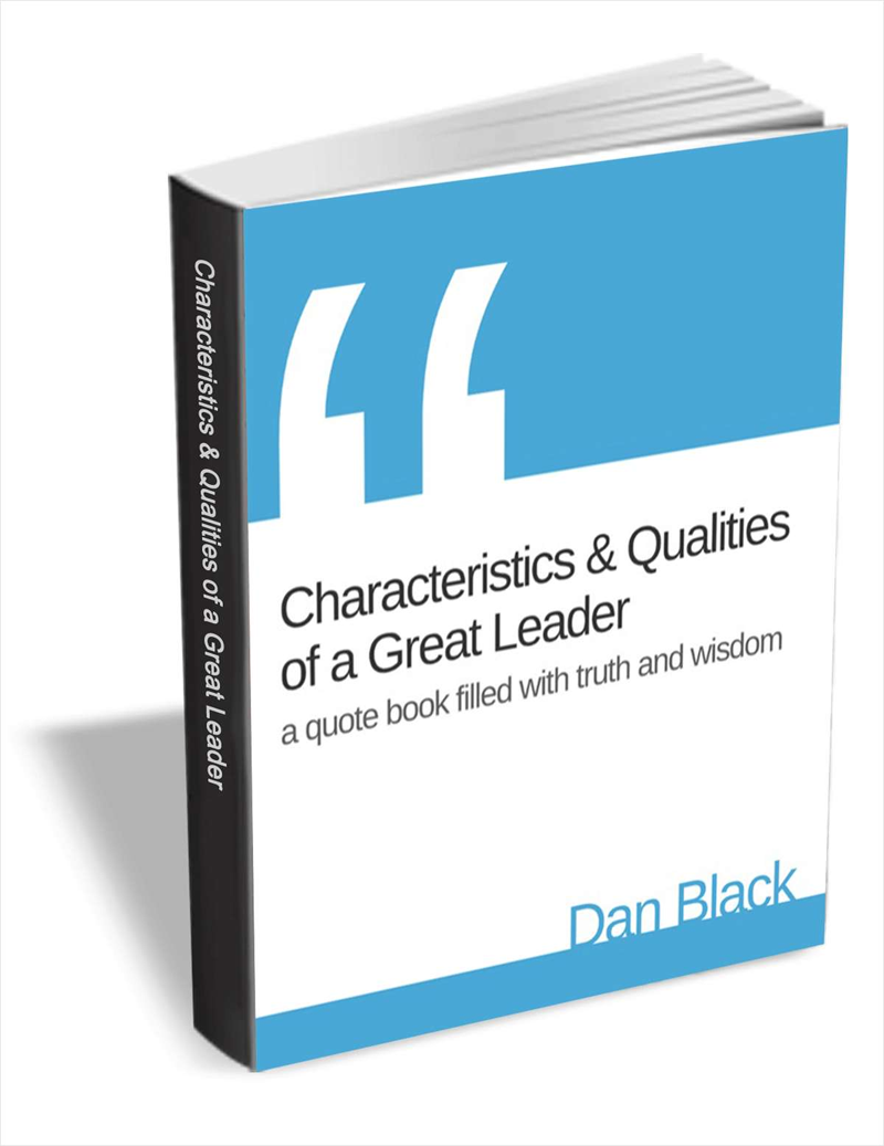 Characteristics & Qualities of a Great Leader - Quote Book Screenshot