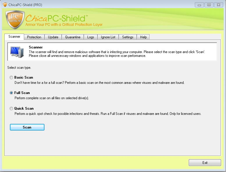 ChicaPC-Shield and ChicaPC-Fix Screenshot