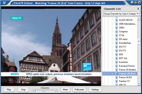 Online Video Software, ChrisTV Online! Premium Edition Screenshot