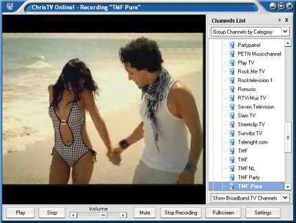 Video Software, ChrisTV Online! Premium Edition Screenshot