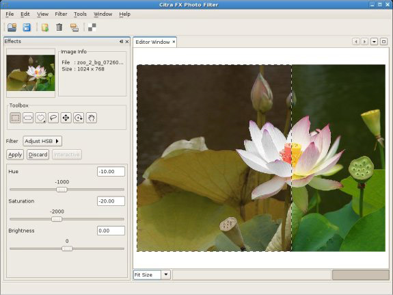 Citra FX Photo Effects Screenshot