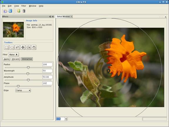 Design, Photo & Graphics Software, Citra FX Photo Effects Screenshot