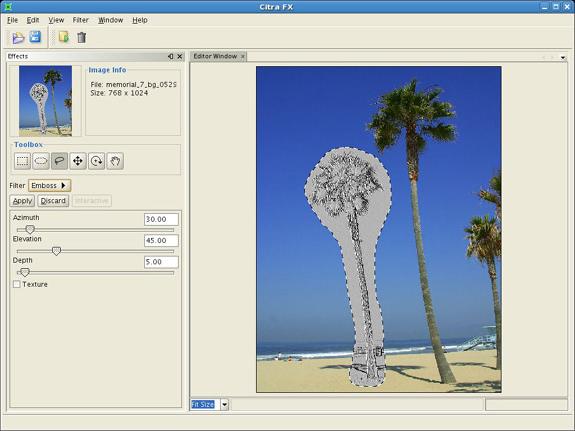 Citra FX Photo Effects, Design, Photo & Graphics Software Screenshot