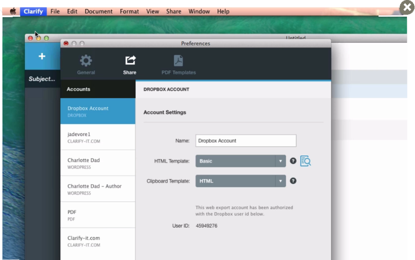 Writing and Journaling Software Screenshot