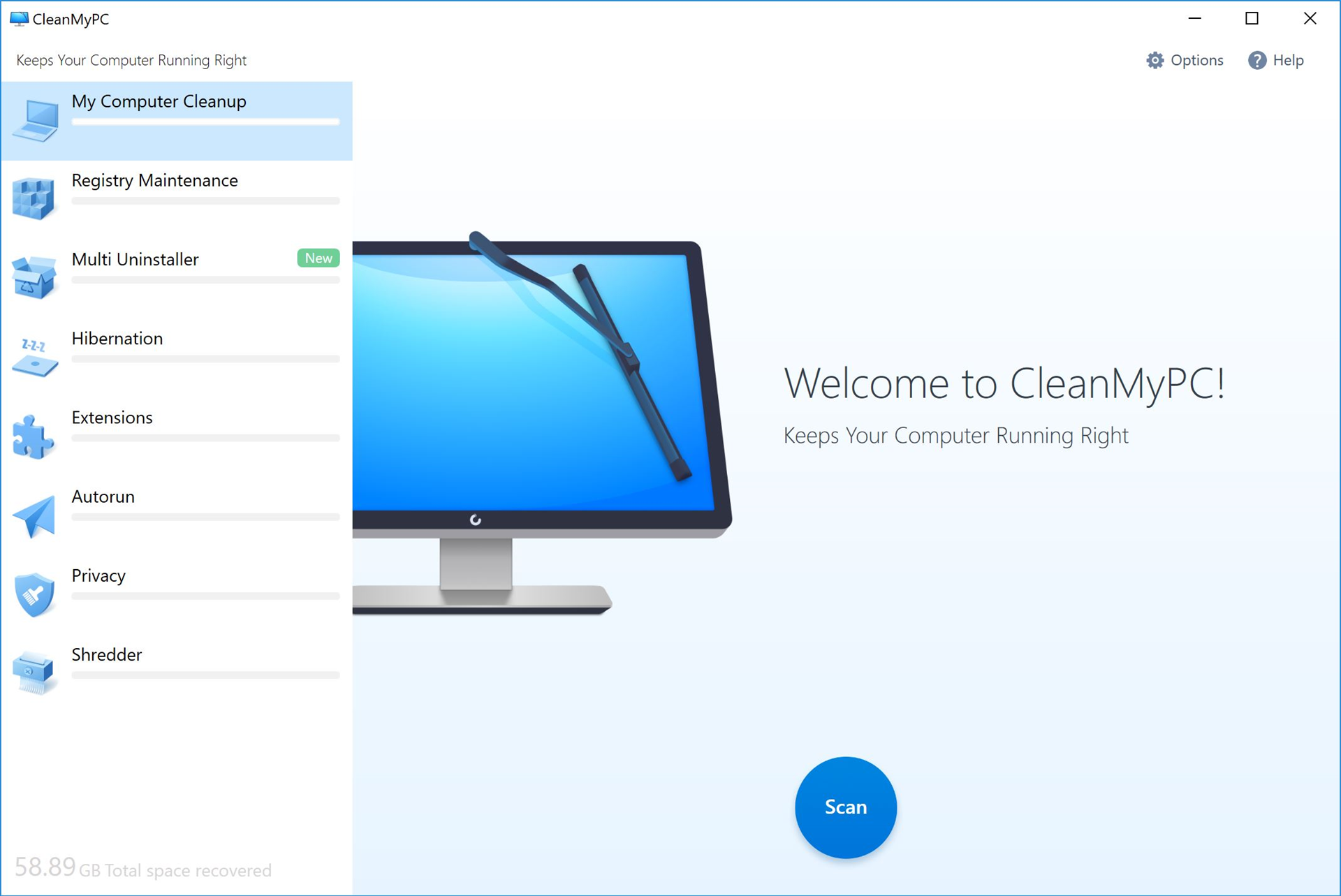 CleanMyPC (Lifetime License) Screenshot