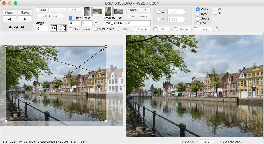 Design, Photo & Graphics Software, Click2Crop for Mac Screenshot