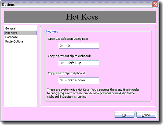 Clipboard Software Screenshot