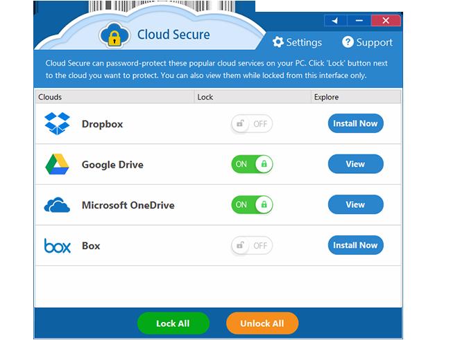 Cloud Secure Screenshot