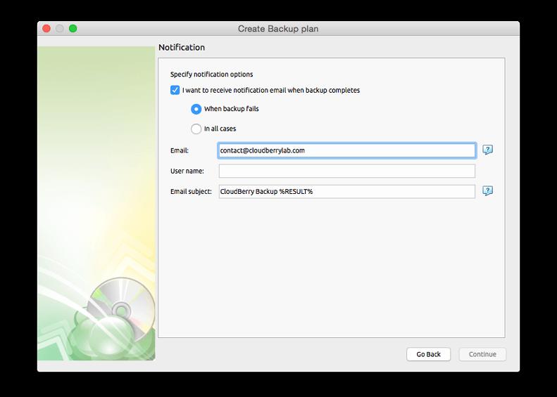 Cloudberry Backup for Mac Screenshot 15
