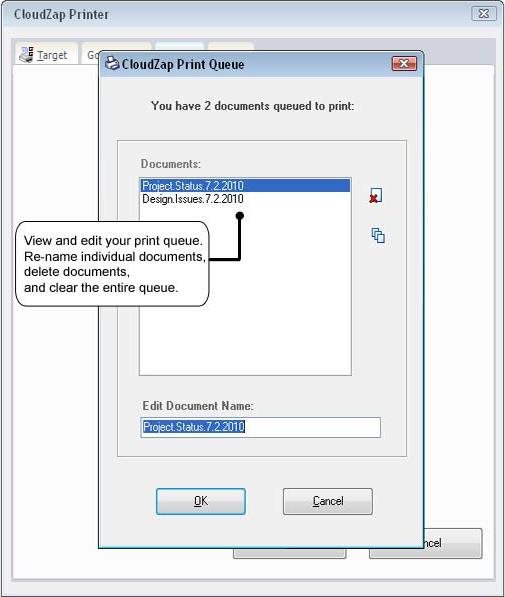 CloudZap, Software Utilities Screenshot
