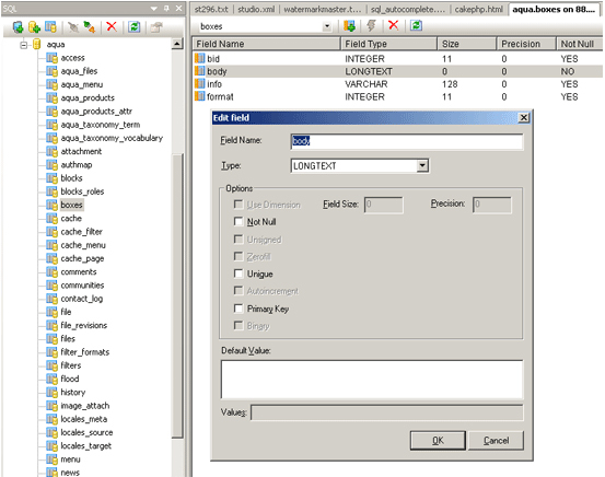 Codelobster Professional version, Development Software Screenshot