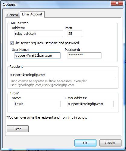 Coding FTP, FTP Software Screenshot