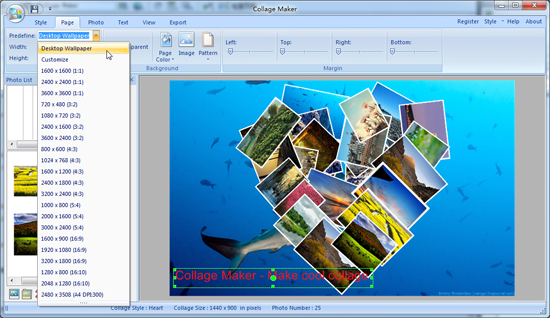 Design, Photo & Graphics Software, Collage Maker Screenshot