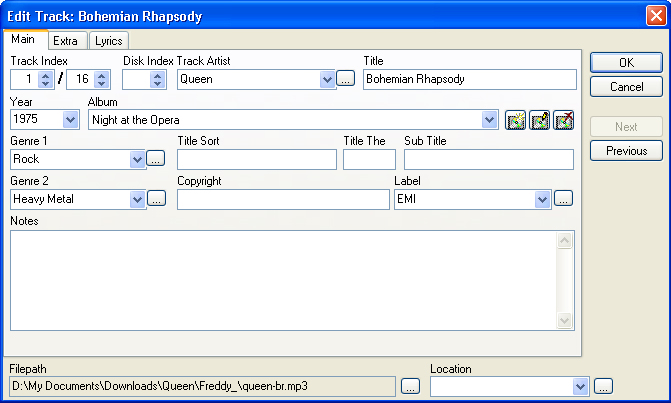 Collectorz com MP3 Collector Pro - Cataloging Software for