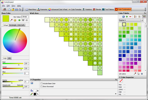 ColorImpact, Design, Photo & Graphics Software Screenshot