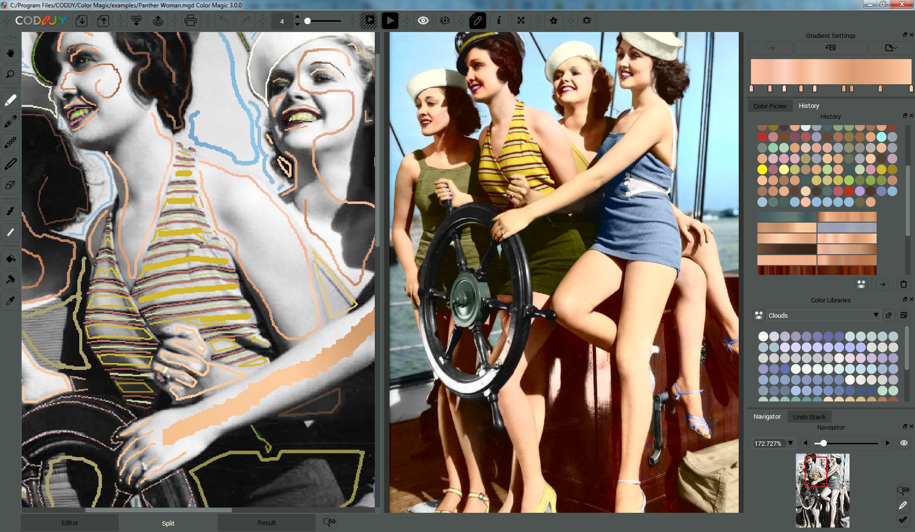 Photo Manipulation Software, CODIJY Pro Screenshot