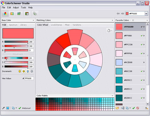 ColorSchemer Studio 2 Screenshot 9