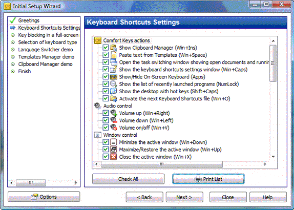 Typing Software Screenshot