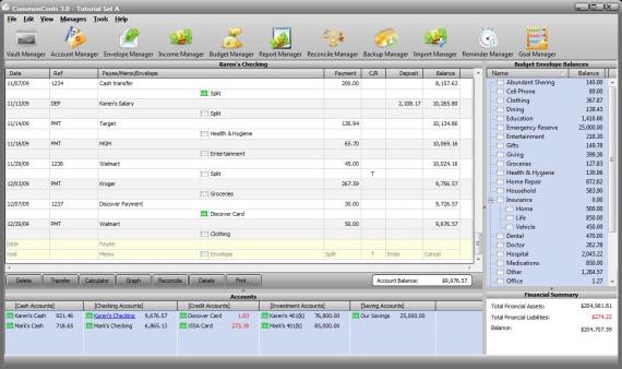 CommonCents 3.0 Screenshot