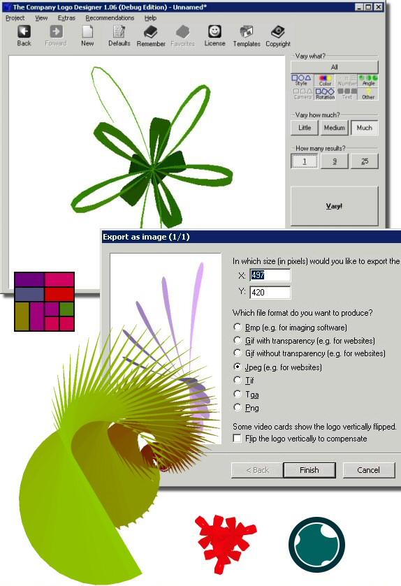 Company Logo Designer (Comfort Edition) Screenshot