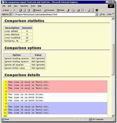 Business & Finance Software, Compare PDF Screenshot