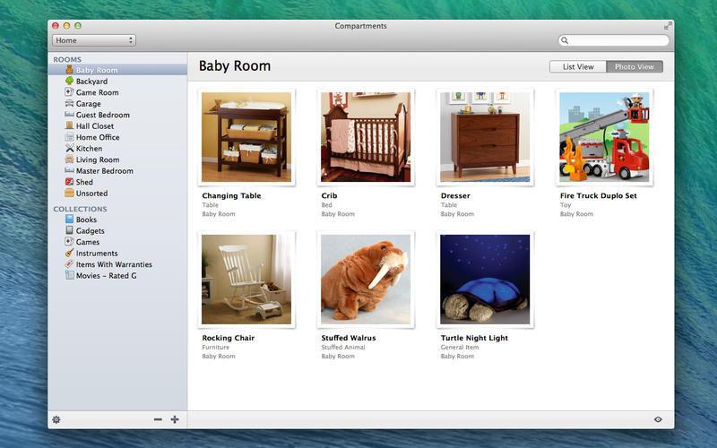 Compartments Screenshot