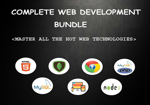 Complete Web Development Bundle Screenshot