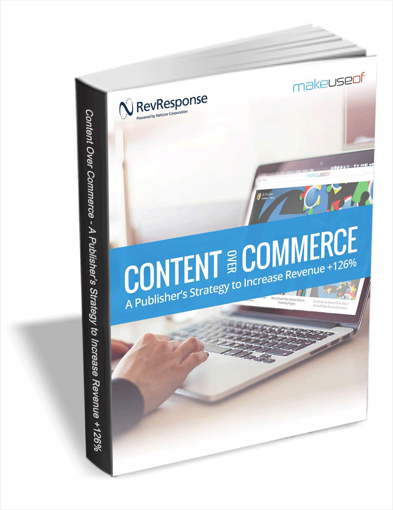 Content Over Commerce: A Publisher