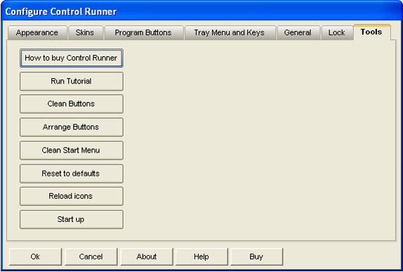Desktop Customization Software, App Launcher Software Screenshot