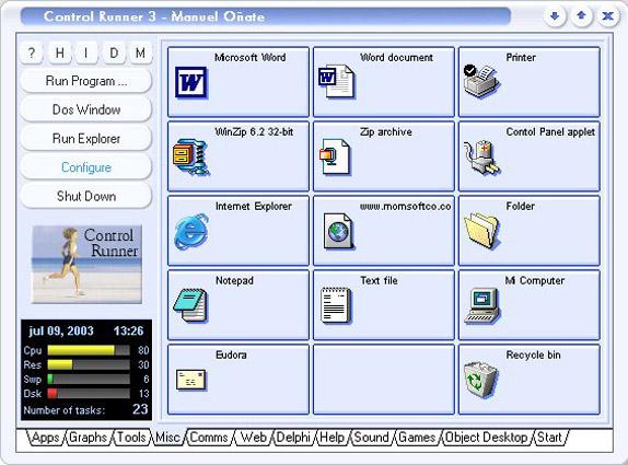 Control Runner Screenshot