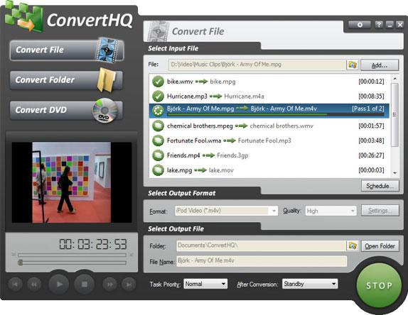 ConvertHQ Premium Screenshot