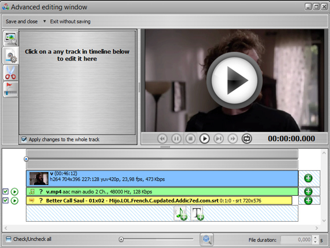 ConvertXtoVideo, Video Converter Software Screenshot