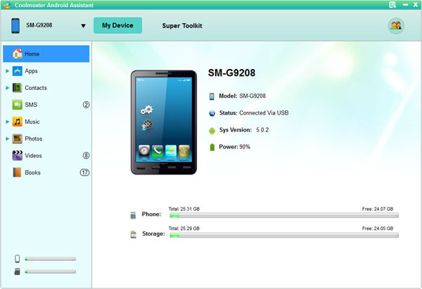 Coolmuster Android Assistant + Lab.Fone for Android Bundle (Management and Recovery) Screenshot