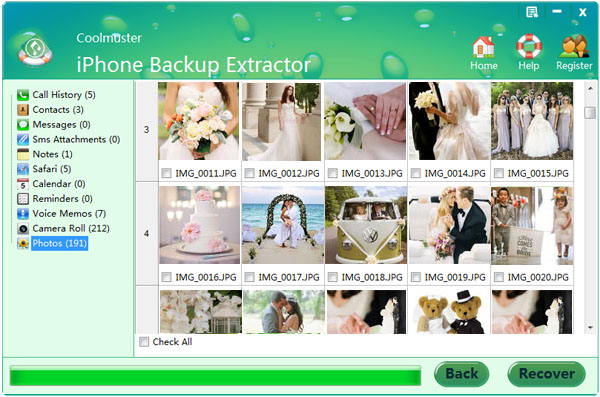 Coolmuster iPhone Backup Extractor Backup and Restore Software