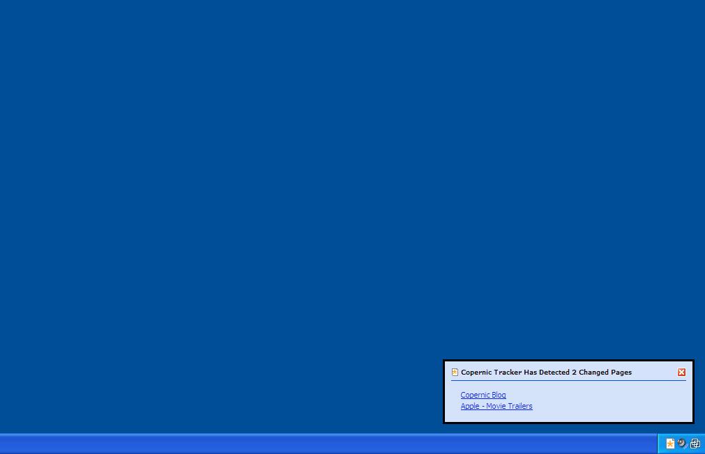 Copernic Tracker, Web Research Software Screenshot
