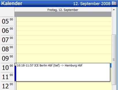 Project Management Software, copy2calendar Screenshot