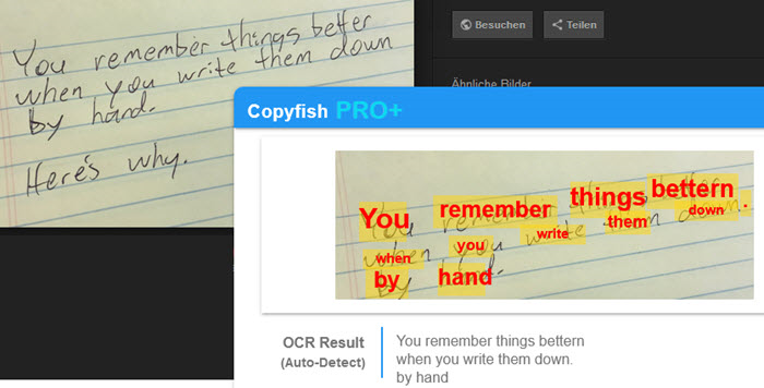 Copyfish PRO - Get text from images and PDF Screenshot