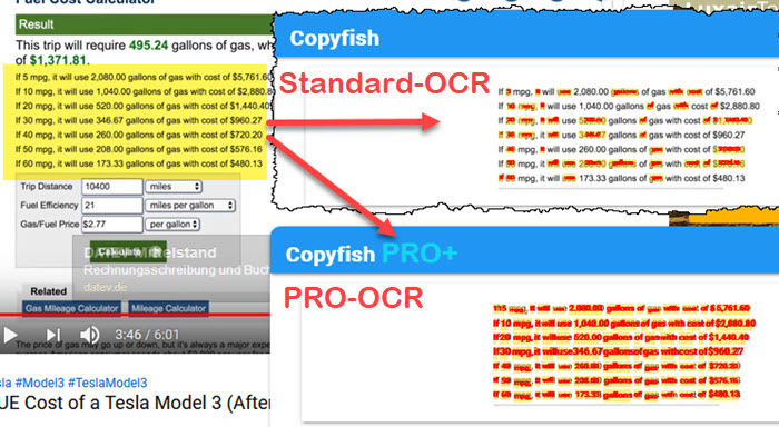 Copyfish PRO - Get text from images and PDF, Productivity Software Screenshot