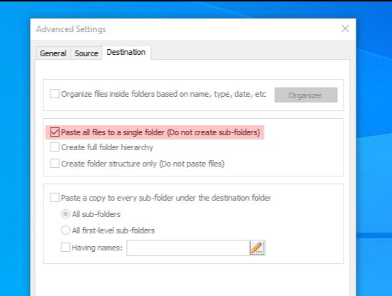 Copywhiz, Software Utilities, File Management Software Screenshot