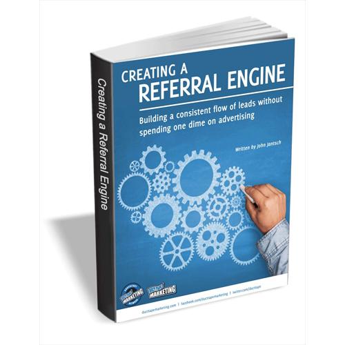 Creating a Referral Engine Screenshot