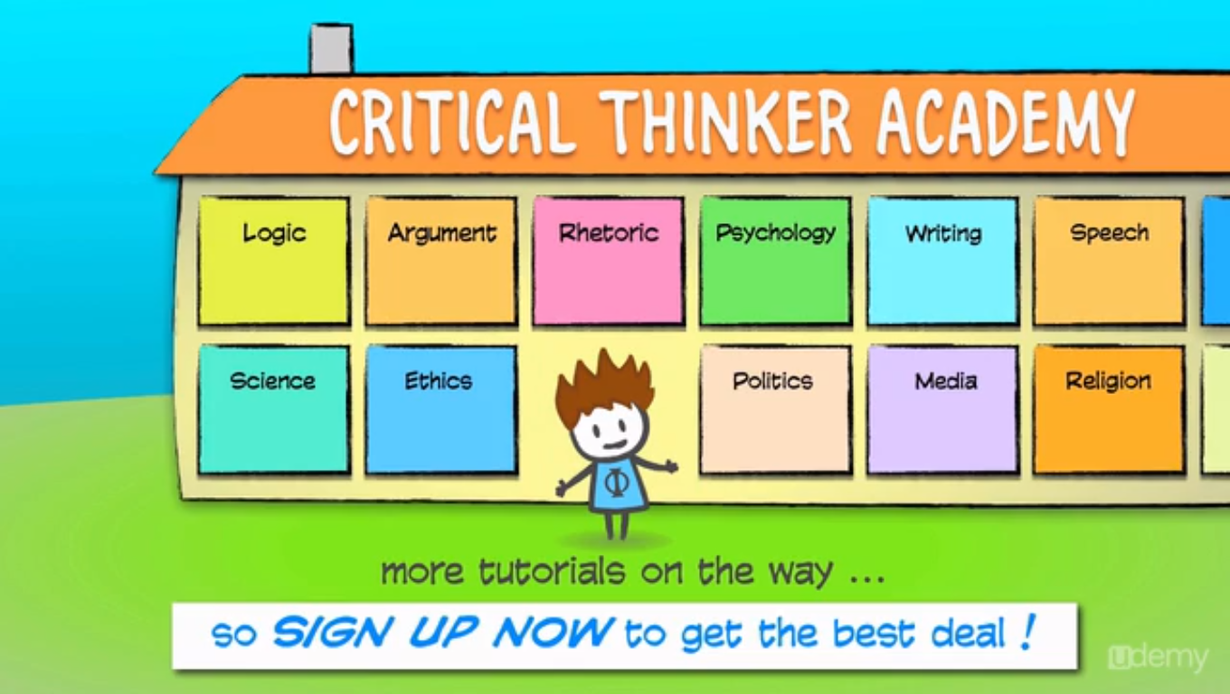 Learning and Courses Software, Critical Thinker Academy: Learn to Think Like a Philosopher Screenshot