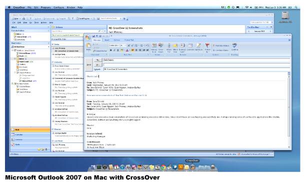 CrossOver Screenshot
