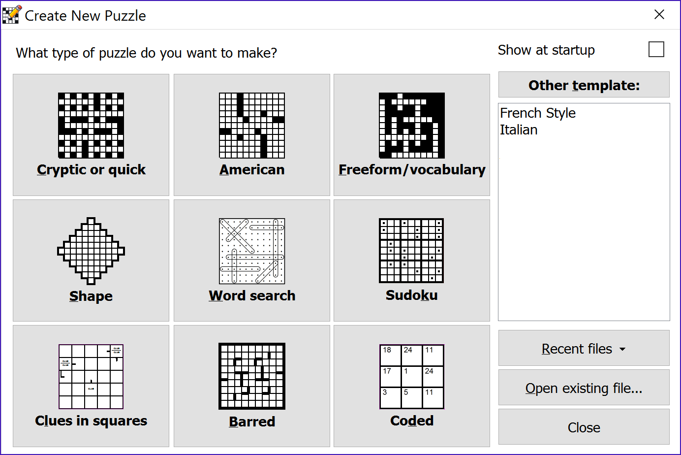 Crossword Compiler Bundle Screenshot