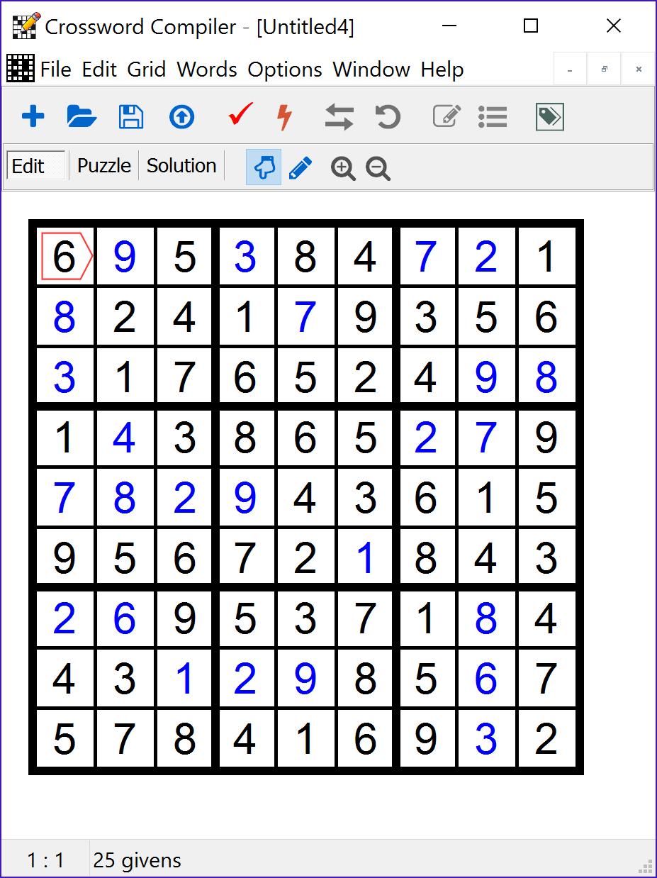 Educational Software, Crossword Compiler Bundle Screenshot