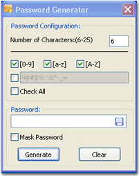 Cute Password Manager, Security Software Screenshot