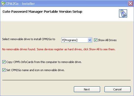 Password Manager Software, Cute Password Manager Screenshot